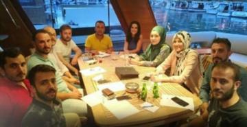 Beykoz AK Parti Gençlik Kolları'nın yatta toplantı yapması tepki çekti
