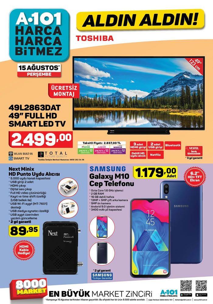 A101 15 Ağustos Yeni Aktüel Ürünler Kataloğu