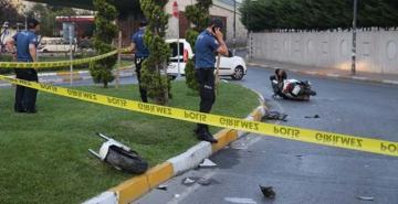 Bahçelievler'de feci kaza! 16 yaşındaki motosikletçi öldü