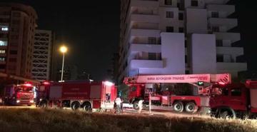 Bursa'da 15 katlı binada yangın paniği