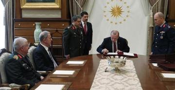 YAŞ kararları açıklandı: 14 general ve amiral üst rütbeye yükseltildi