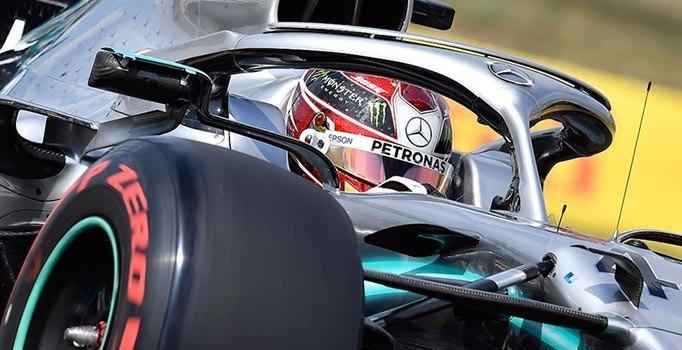 Hamilton'dan sezonun 8'inci zaferi