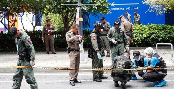 Bangkok'taki patlamalar sonrası 7 öğrenciye gözaltı