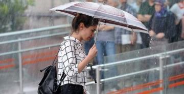 Meteoroloji'den Marmara bölgesi için sağanak uyarısı