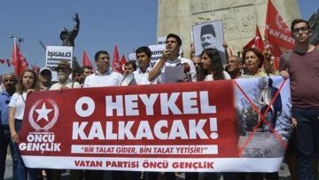 Öncü Gençlik'ten Ermenistan'a 'Talat Paşa' tepkisi