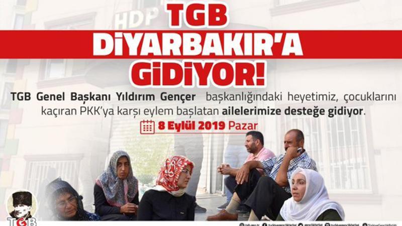 TGB Diyarbakırlı anneleri ziyarete gidiyor