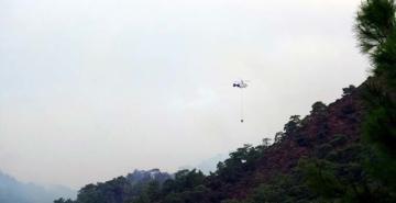 Muğla'da orman yangını: Yıldırım düştü, alevler rüzgarla yayıldı