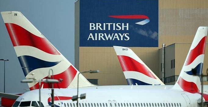 British Airways pilotları greve gitti, tüm uçuşlar iptal edildi