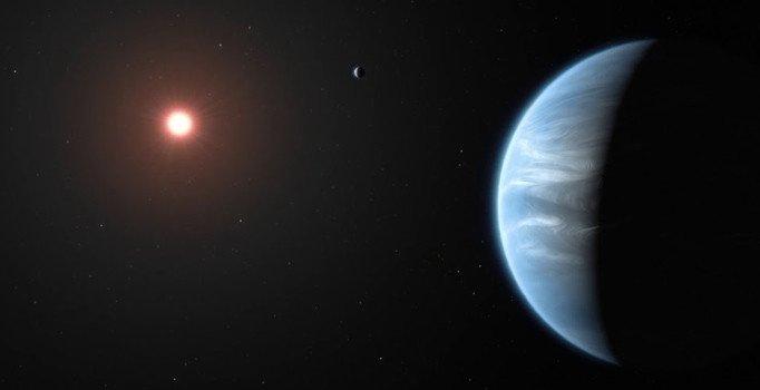 İlk kez Güneş Sistemi dışındaki bir gezegende su bulundu