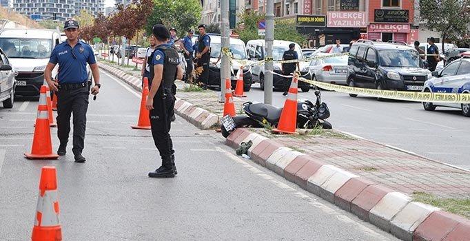 Adliye önünde silahlı saldırı