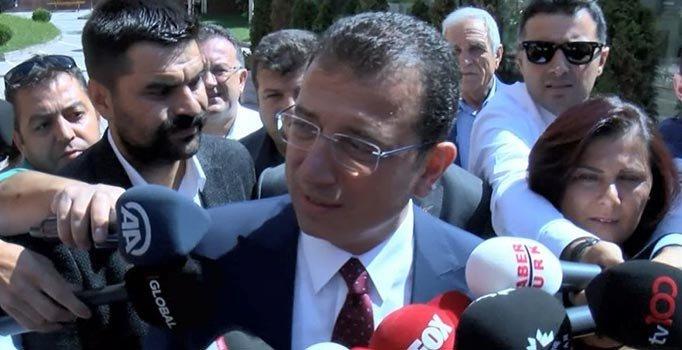 İmamoğlu'ndan Erdoğan'a: Biz hassasız, kimi kastetti bilmiyorum