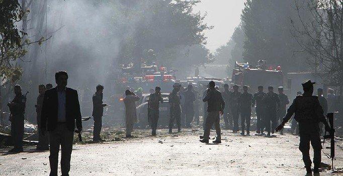 Kabil'de karakola bomba yüklü araçla saldırı: 4 ölü