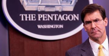 ABD Savunma Bakanı Mark Esper: Türkiye'ye karşı Orta Doğu'da bir savaş başlatamayız
