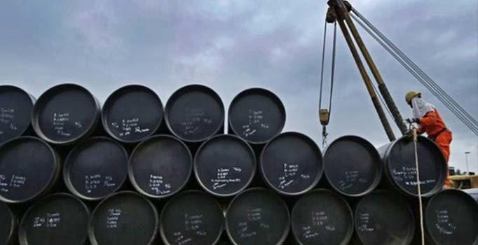 Brent petrolün varili 59,16 dolardan işlem görüyor