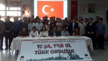 TGB İzmir'den İzmir Barosu'na yanıt: Gençlik hazır, daima hazır!
